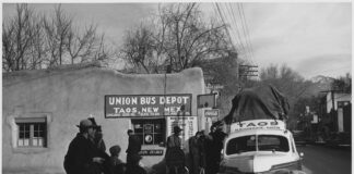 Leaving Taos - Flashfiction by Dennis Lowery