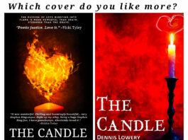 THE CANDLE cover decision - Short Fiction by Dennis Lowery